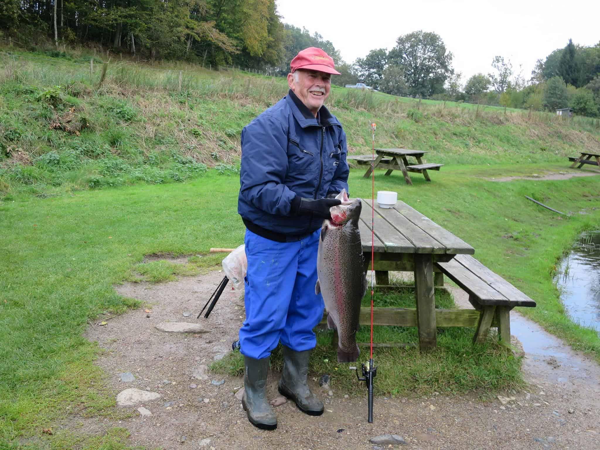 pensionist på fisketur